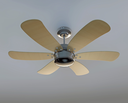 Ceiling Fans And Your Air Conditoner: Did You Know The Cooling's Better When You Use Them Together?