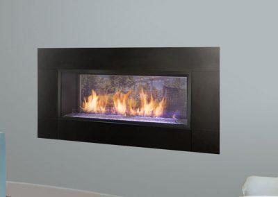 Artisan See Through Indoor Gas Fireplace